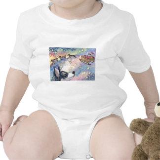 Perros fornidos del trineo camisetas