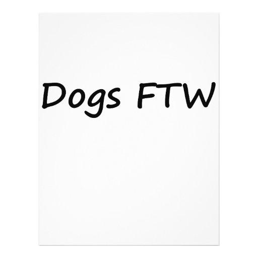 Perros FTW Tarjetones