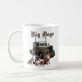 Perros grandes, perros grandes taza de café