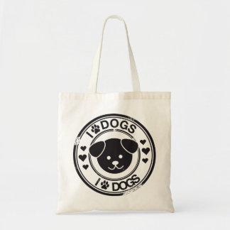 Perros I (de la pata) Bolsa De Mano