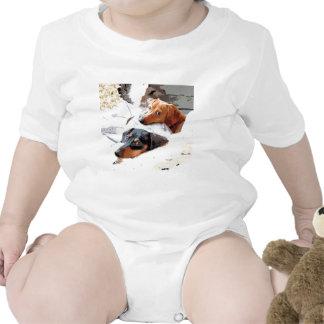Perros Napping Traje De Bebé
