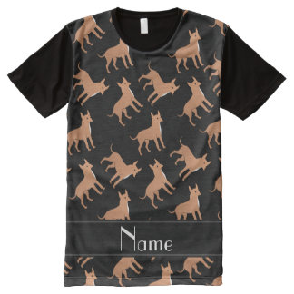 Perros negros conocidos personalizados de la
