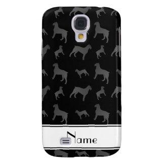 Perros negros conocidos personalizados del funda para galaxy s4