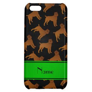 Perros negros conocidos personalizados del griffon