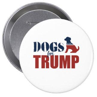 Perros para el triunfo pin redondo 10 cm