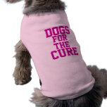 Perros para la curación playera sin mangas para perro