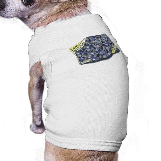 Perros para la paz playera sin mangas para perro