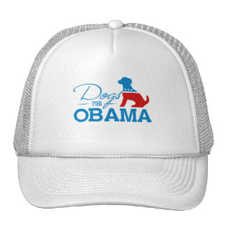 Perros para Obama - Gorros