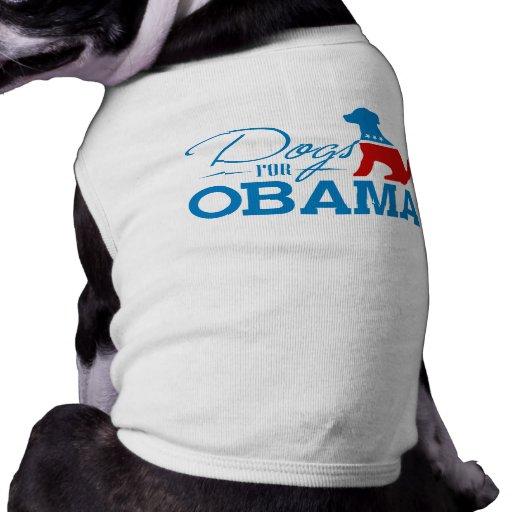 Perros para Obama - Playera Sin Mangas Para Perro