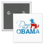Perros para Obama - Vintage.png Pin
