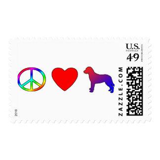 Perros perdigueros de bahía de Chesapeake del amor Sello