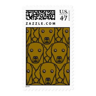 Perros perdigueros de bahía de Chesapeake Timbre Postal