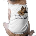"Perros playera ""perro pastor "" ropa para mascota"