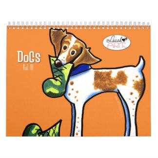 Perros por el arte vol. 3 del Apagado-Correo Calendarios
