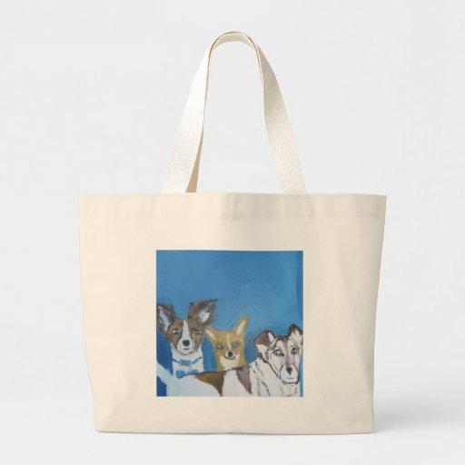 perros por el ginsburg de eric bolsa tela grande