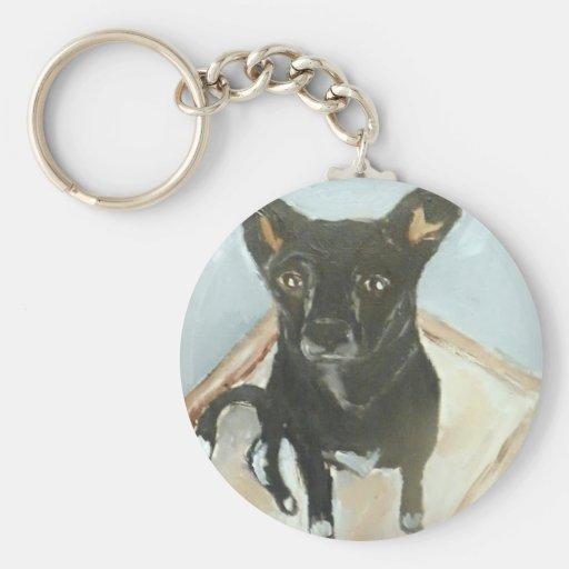 perros por el ginsburg de eric llavero personalizado