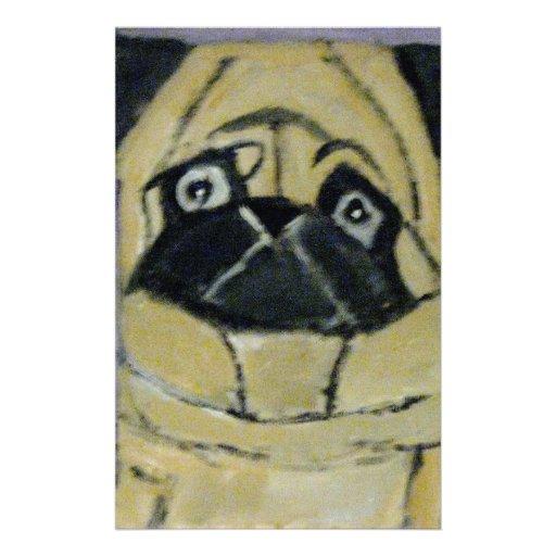 perros por el ginsburg de eric personalized stationery