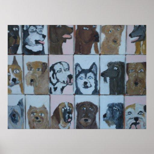 perros por el ginsburg de eric posters