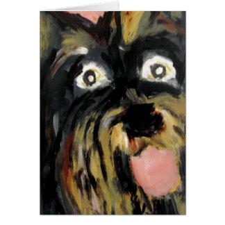 perros por el ginsburg de eric tarjeta