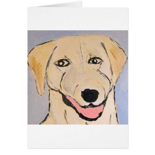 perros por el ginsburg de eric tarjeta de felicitación