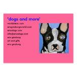 perros por el ginsburg de eric tarjeta de visita