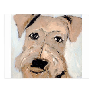 perros por el ginsburg de eric tarjeta postal