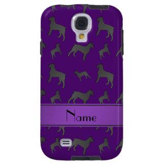 Perros púrpuras conocidos personalizados del funda para galaxy s4