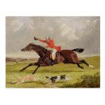 Perros que animan, 1839 (aceite en el panel) tarjeta postal