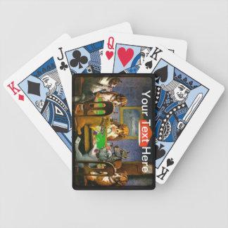 Perros que juegan el póker un amigo en personaliza barajas