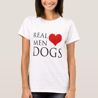 Perros reales del amor de los hombres playera