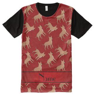 Perros rojos conocidos personalizados de la
