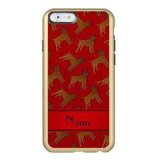 Perros rojos conocidos personalizados del griffon funda para iPhone 6 plus incipio feather shine