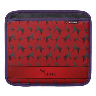 Perros rojos conocidos personalizados del labrador manga de iPad