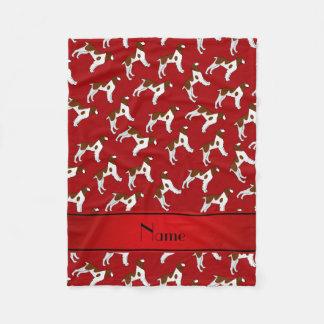 Perros rojos conocidos personalizados del perro de manta polar