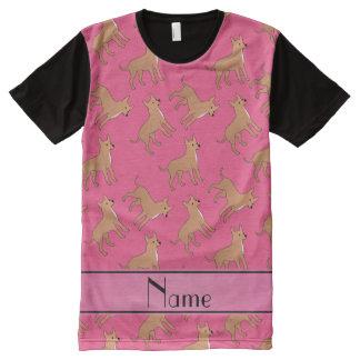 Perros rosados conocidos personalizados de la
