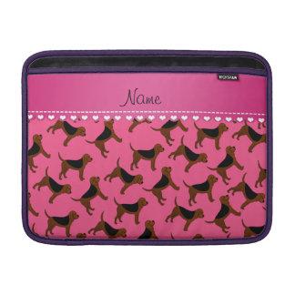 Perros rosados conocidos personalizados del fundas MacBook