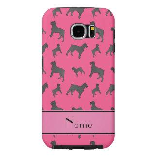 Perros rosados conocidos personalizados del fundas samsung galaxy s6