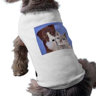 perros, tazas, felices, ginsburg de eric, worldofe camisetas mascota