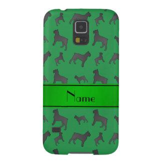 Perros verdes conocidos personalizados del fundas para galaxy s5