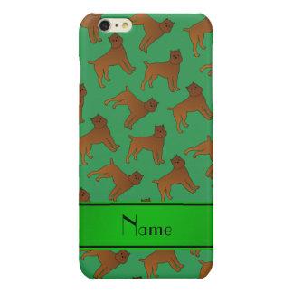 Perros verdes conocidos personalizados del griffon