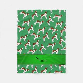 Perros verdes conocidos personalizados del perro manta polar