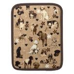 Perros y corazones manga de iPad