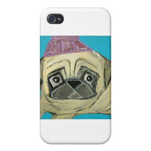 perros y gatos por el ginsburg de eric iPhone 4 funda