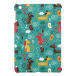 Perros y pájaros iPad mini protector