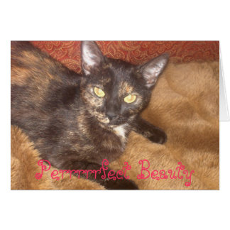 Perrrrfect Beauty Card
