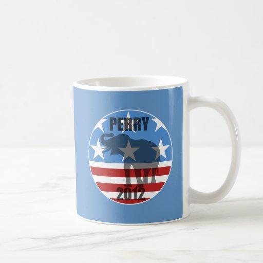 Perry 2012 classic white coffee mug