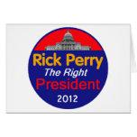 Perry 2012 felicitacion