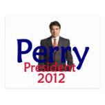 Perry 2012 Postcard