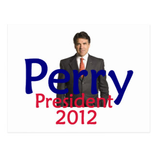 Perry 2012 Postcard
