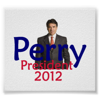 Perry 2012 POSTER Print